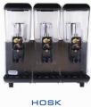 מכונת שתיה HOSK מיכל מסיבי 3 ראשיםאחריות שנתיים