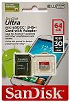 כרטיסי זיכרון SANDISK 64 GB