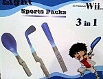 WII Wii Light Sports Packs 3 in 1