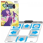 Wii Dance Dance Revolution Hottest Party 5 + Mat