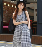 שמלה משובצת