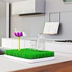 מתקן לייבוש בקבוקים כולל 2 פרחים לייבוש