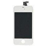 תיקון אייפון מסך אייפון 4 לבן - הכולל LCD + דיגיטייזר