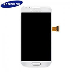 החלפת מסך LCD+מגע מקורי Samsung Galaxy S3 Mini סמסונג