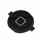 פלאט כפתור HOME (בית) שחור אייפון 4