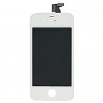 תיקון אייפון מסך אייפון 4 לבן - הכולל LCD + דיגיטייזר - 1