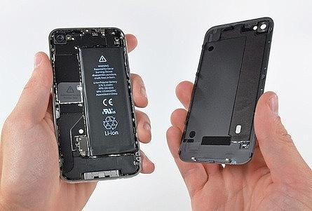 תיקון אייפון סוללה מקורית לאייפון 4 - 2