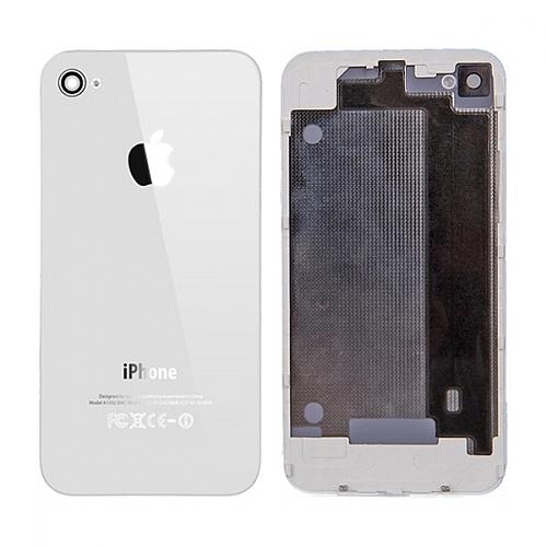 תיקון אייפון גב אחורי לבן מקורי APPLE לאייפון 4 - 1
