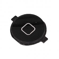 פלאט כפתור HOME (בית) שחור אייפון 4 - 1