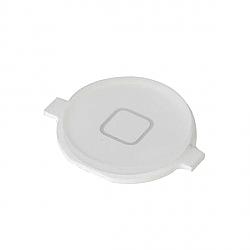 פלאט כפתור HOME (בית) לבן אייפון 4 - 1