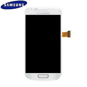 החלפת מסך LCD+מגע מקורי Samsung Galaxy S3 Mini סמסונג - 1