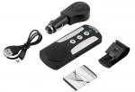 דיבורית BLUETOOTH  איכותית עם סוללה נטענת, תופסן למגן השמש וכבל USB לטעינה