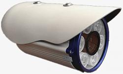 מצלמת אבטחה אור לבן