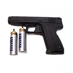 אקדח גז פלפל + 2 מיכלים