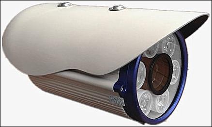 מצלמת אבטחה אור לבן - 1