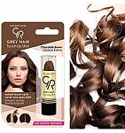 אודם לכיסוי שיער שיבה חום שוקולד - Golden Rose