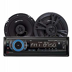 רדיו דיסק + רמקולים 6.5 Nakamichi