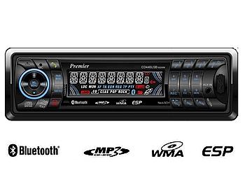 רדיו לרכב Premier 436bt - 1