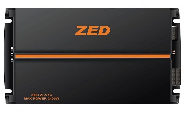 מגבר 4 ערוצים לרכב 2400W ZED - 1
