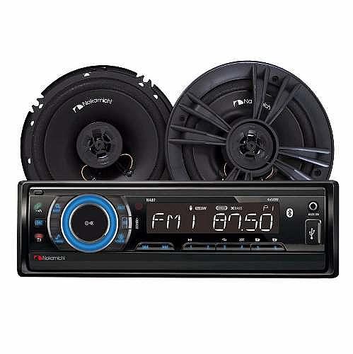רדיו דיסק + רמקולים 6.5 Nakamichi - 1
