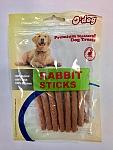 O'dog חטיף רך לכלב רצועות ארנבת