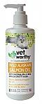 """שמן סלמון תוסף למזון לפרווה עשירה לחתול 236 מ""""ל Vet Worthy"""