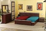 חדר שינה קומפלט מיטה יהודית דגם פרוייקה