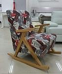 כורסא ידיות עץ דגם פאסיפיק