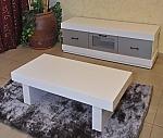 מזנון + שולחן אפוקסי דגם אליזבת