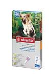 """אדוונטיקס אמפולות קוטלות ודוחות טפילים Advantix לכלבים מעל 25 ק""""ג"""