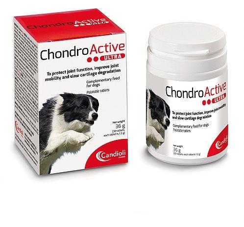 כונדרואקטיב אולטרה טבליות לשיפור תפקוד תנועה ומפרקים לכלבים Condro active - 1