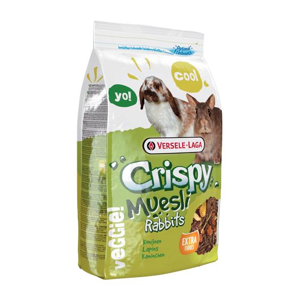 """קריספי מזון מלא לארנבות 1 ק""""ג Crispy Muesli - 1"""