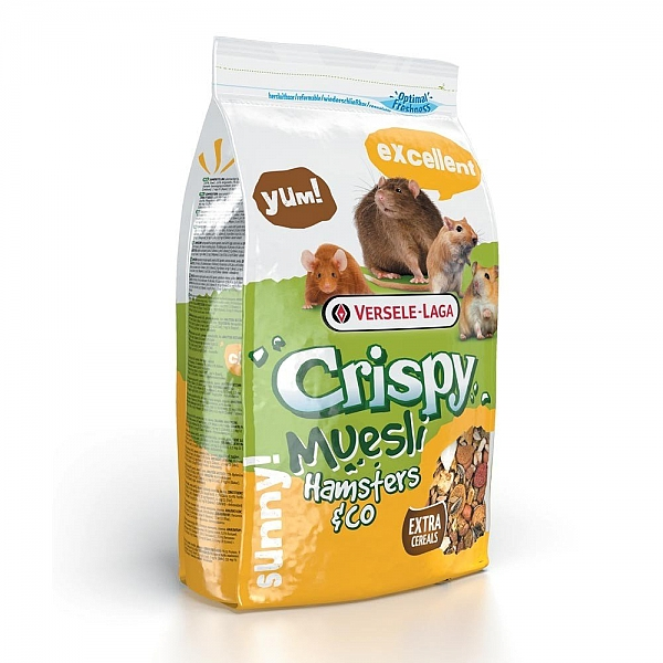 """קריספי מזון מלא לאוגר 2.75 ק""""ג Crispy Muesli - 1"""