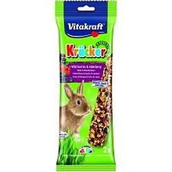 ויטקרפט זוג מקלות דבש לארנבת בתוספת פירות יער