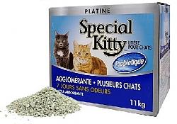"""חול מתגבש ספיישל קיטי 11 ק""""ג Special Kitty"""