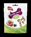 Healthy Snack בונזו עם חמאת בוטנים תותים ואוכמניות