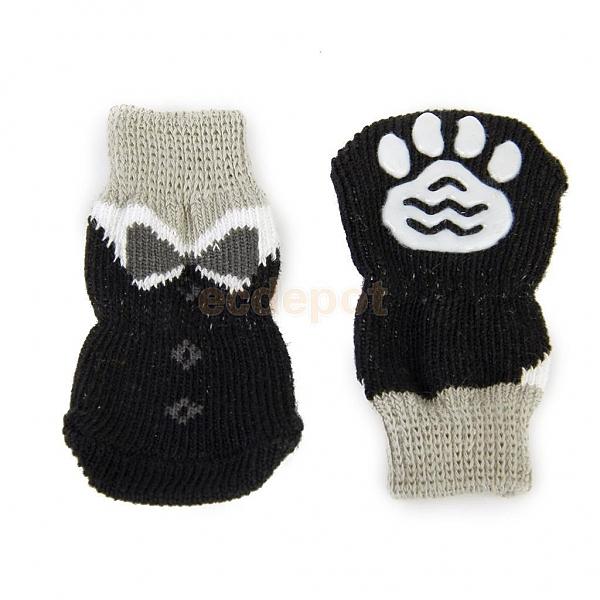 גרביים לכלבים מחממות לחורף - 1
