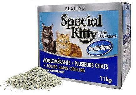 """חול מתגבש ספיישל קיטי 11 ק""""ג Special Kitty - 1"""