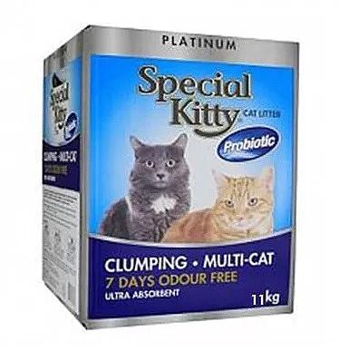 """חול מתגבש ספיישל קיטי 11 ק""""ג Special Kitty - 2"""