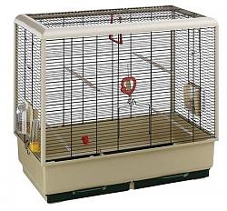 כלוב לציפור פיאנו 5 לבן