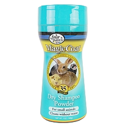 שמפו יבש למכרסמים Magic Coat Dry Shampoo Powder