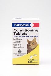 ויטמין לחתול קיטצים 100 טבליות