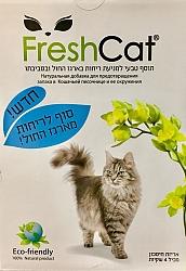 פרש קט תוסף טבעי למניעת ריחות בארגז החול ובסביבתו Fresh Cat