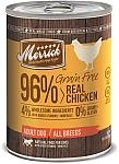מריק שימורים ללא דגנים עוף ובטטה Merrick Grain Free Chicken