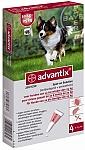 """אדוונטיקס אמפולות קוטלות ודוחות טפילים Advantix לכלבים 10-25 ק""""ג"""