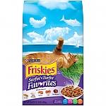"""פריסקיז מזון לחתול מעדני החתול (סגול) 7.26 ק""""ג Friskies Surfin & Turfin"""