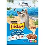 """פריסקיז מזון לחתול מעדני הים (כחול) 7.26 ק""""ג Friskies Sea Food"""