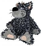 בובת זאב מצפצפת