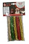 סיגר צבעוני עבה לכלבים 5 יחידות