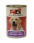 פטקס שימורים לכלבים בטעם כבש ואורז